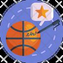 Basketball Basketball Autograph Ball Icon