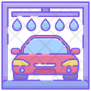 Automated Car Wash Icon