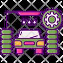 Iautomated Car Wash Icon