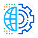 Automated Internet Settings Icon