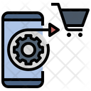 Automated Planning Ai Shopping Icon