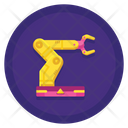 Automated Robotic Arm Icon