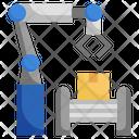 Automated Robotic Arm Robotic Arm Robot Arm Icon