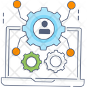 System Setting System Configuration Customized Settings Icon