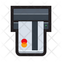 Automated Teller Machine Terminal Cashier Icon