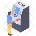 Atm Cash Machine Cash Dispenser Icon