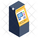 Instant Banking Automated Teller Machine Cash Machine Icon