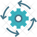 Machine Science Technology Icon