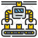 Automatic Robot Manufacturing Icon