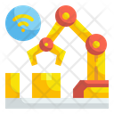 Automatic Manufacturing Robot Icon