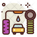 Automatic Car Wash Car Wash Car Washing Icon