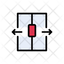 Door Open Arrow Icon