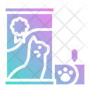 Feed Cat Pet Icon