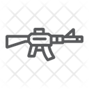 Automatic Rifle Military Icon
