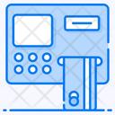 Automatic Payment Atm Money Dispenser Icon