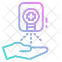 Automatic Hand Spray Icon