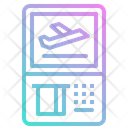 Automatic ticket machine Icon
