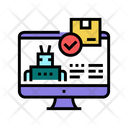Automatical Order Acceptance Icon