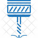Automation Construction Drill Icon