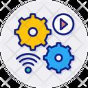 Automation Action Cogwheel Icon