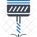 Automation Drill Machine Icon