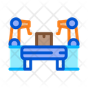 Manufacturing Automatic Equipment Icon