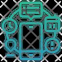 Automation Automation Of Knowledgework Intelligence Icon