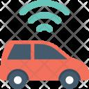 Wifi Signals Car Icon