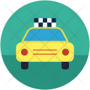Automobile Cab Taxi Icon