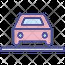 Automobile Car Parking Car Porch Icon