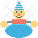 Automobile Baby Toy Icon