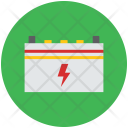 Bolt Battery Car Icon
