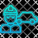 Automobile Engineer Icon