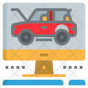 Automobile Service Check Icon