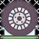 Automobile Wheel Scroll Chak Centering Scroll Icon