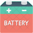 Automotive Battery Charging Icon
