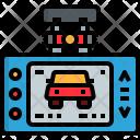 Automotive Recorder Camera Icon