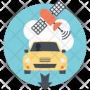 Navigation Tracker Car Icon