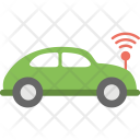 Autonomous Car Driverless Icon