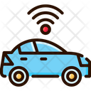 Self Driving Cars Autonomous Car Ai Icon