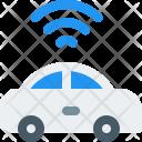 Autonomous Car Automobile Icon