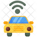 Autonomous Vehicle Autonomous Car Driverless Car Icon