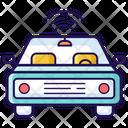 Autonomous Vehicle Autonomous Car Car Wifi Icon