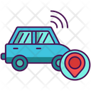 Autonomous Car Automatic Car Transportation Icon