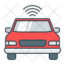 Autonomous Car Driverless Car Self Driving Car Icon