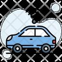 Autonomous Car Vehicle Icon