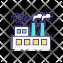 Autonomous Manufacturing Icon