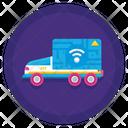 Autonomous Truck Icon