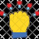 Autonomy Close Fist Hand Gesture Icon