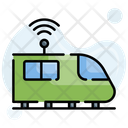 Autopilot Driverless Future Icon